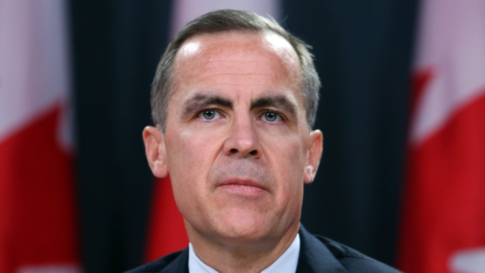 Bank of Canada Governor Mark Carney speaks at a news conference in Ottawa after it was announced that he will be the new head of bank of England on Monday Nov. 26, 2012. (Fred Chartrand / THE CANADIAN PRESS)
