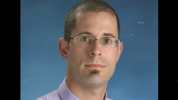 Tomer (Tom) Samson, 35, is pictured in an undated handout photo provided by Swansea Public School.
