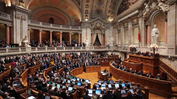 Portugal's Parliament on Nov. 27 2012.