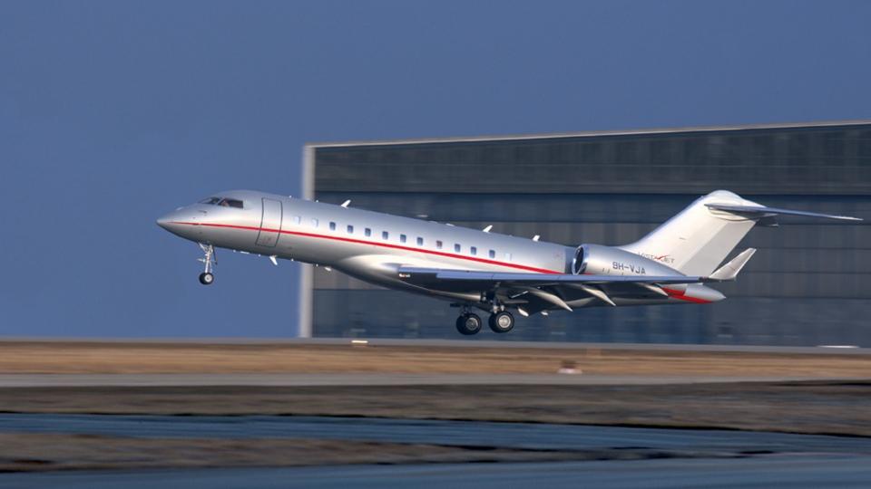 Bombardier Global 6000 VistaJet (Bombardier.ca)