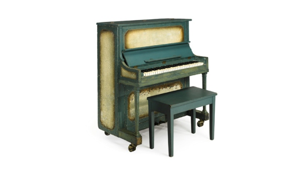 The piano used in the movie 'Casablanca'