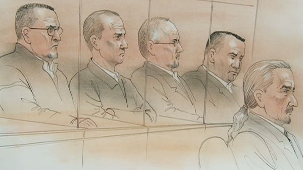 The trial into the Hells Angels and their Toronto clubhouse continued on Tuesday, Nov. 16, 2010.