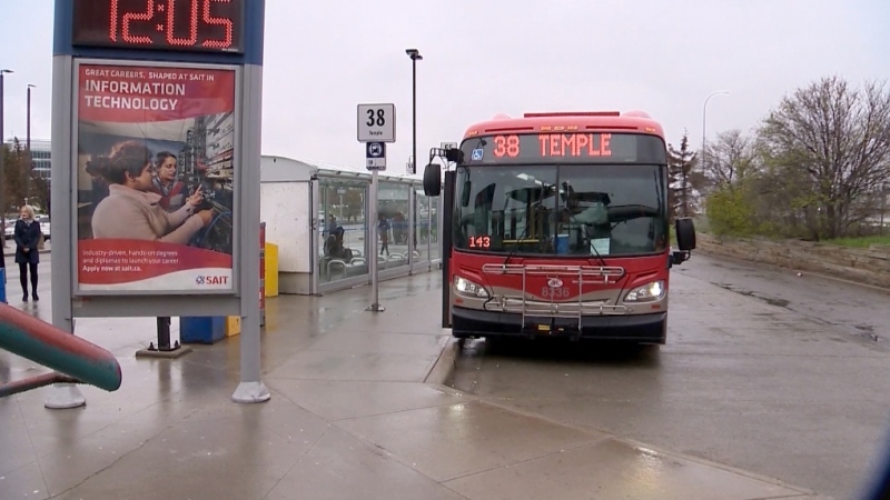 Trains and buses in Calgary will be running on a reduced schedule in response to the COVID-19 pandemic. (File photo)