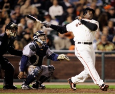 Barry Bonds on Aug. 24, 2007.