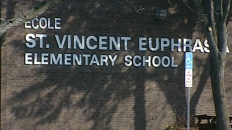 St. Vincent-Euphrasia Elementary School in Meaford is seen on Tuesday, Nov. 16, 2010.