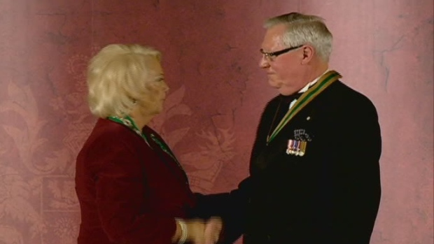 Thomas Molloy receives the Order of M