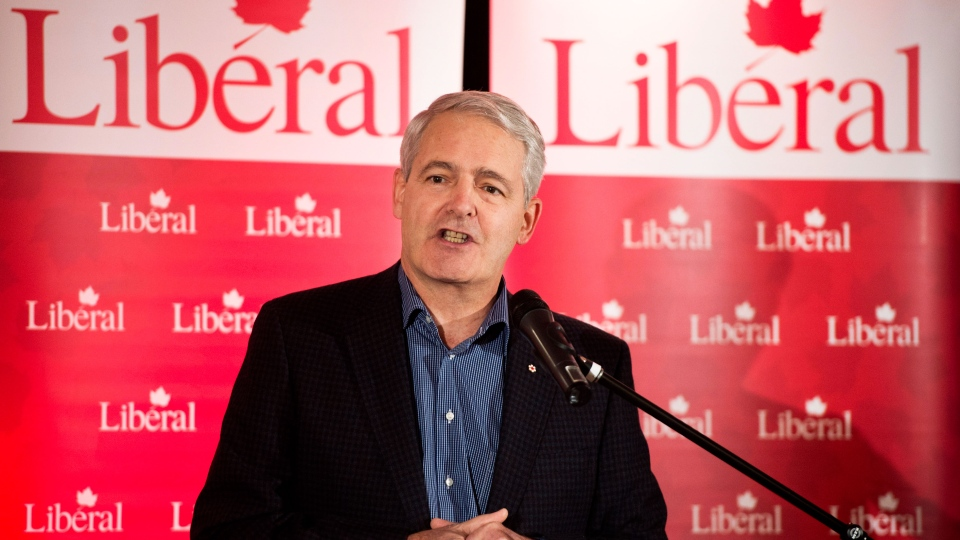 Liberal MP Marc Garneau announces his candidacy for the Liberal party leadership in Montreal, Wednesday, Nov. 28, 2012. (Paul Chiasson / THE CANADIAN PRESS)