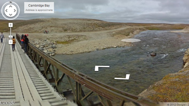 Google Street View travels to Far North