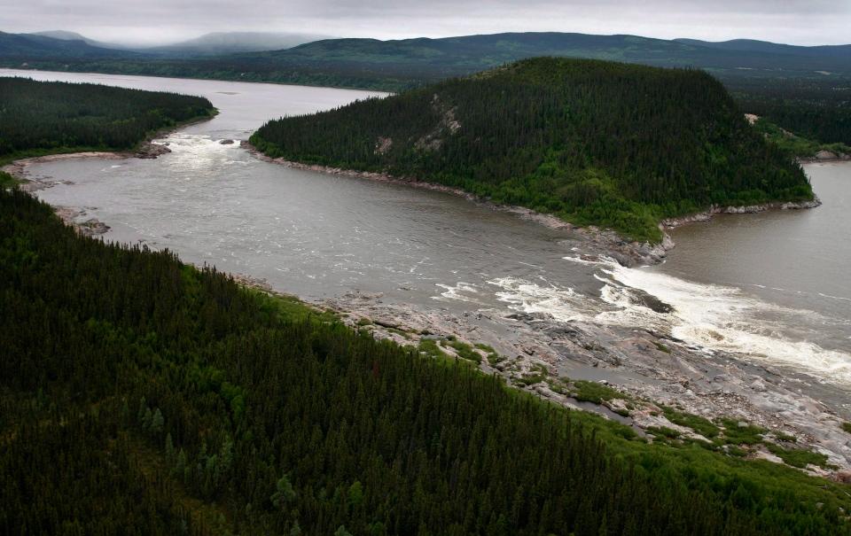 File photo of Muskrat Falls