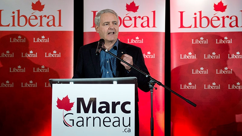 Liberal MP Marc Garneau announces his candidacy for the Liberal party leadership in Montreal, Wednesday, November 28, 2012. (Paul Chiasson / THE CANADIAN PRESS)
