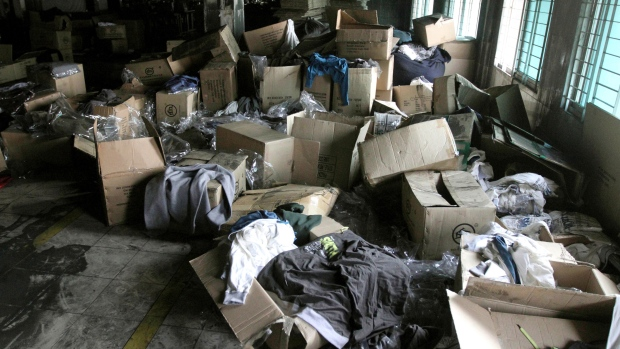 Clothing orders found in burnt Bangladesh factory