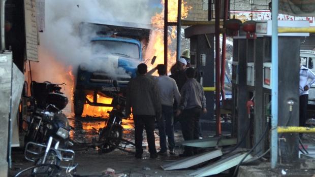 Car bombs kill 34 in Syria