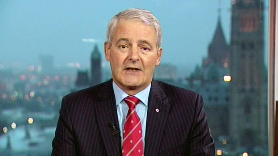 MP Marc Garneau speaks to Canada AM about his candidacy for the Liberal party leadership Thursday, Nov. 29, 2012.