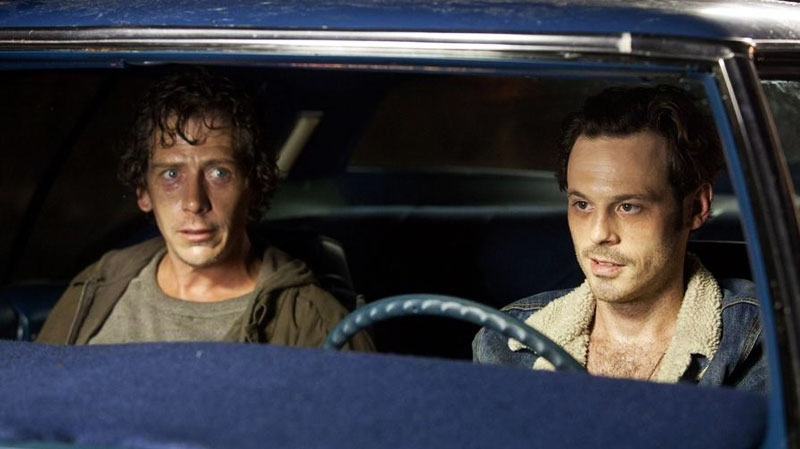 Ben Mendelsohn and Scoot McNairy in Alliance Films' 'Killing Them Softly'