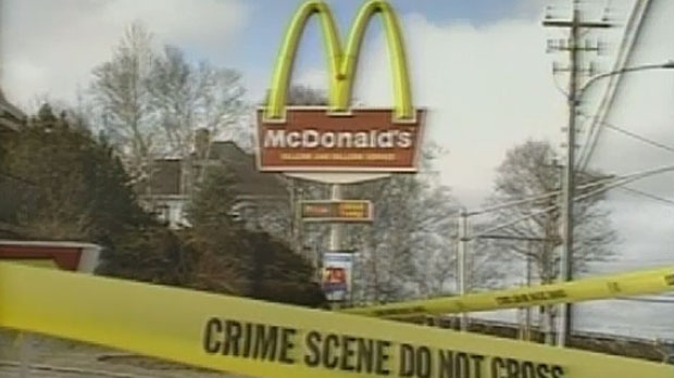 Three employees were killed during an attempted robbery at the McDonald's in Sydney River on May 7, 1992.