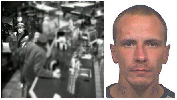 Surveillance footage, Kevin Hrynyk