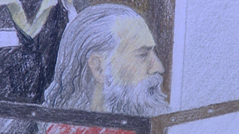 Eric Allen Kirkpatrick made a brief appearance in provincial court in Vancouver, Dec. 15, 2008.