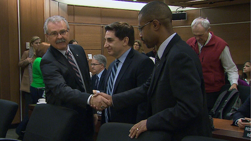 Canadian Agriculture Minister Gerry Ritz attended a Commons committee meeting to discuss the CFIA memos uncovered the day before, in Ottawa on Thursday, Nov. 29, 2012.