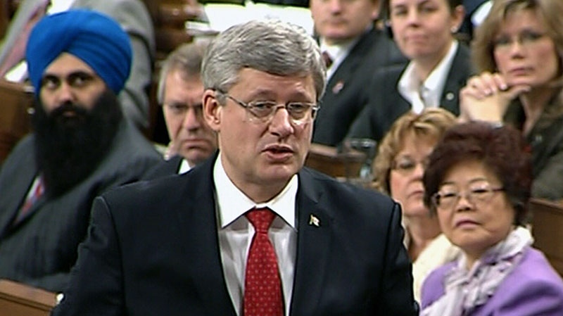 Prime Minister Stephen Harper defended the CFIA during Question Period in Ottawa on Thursday, Nov. 29, 2012.