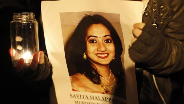 Savita Halappanavar candle lit vigil