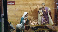 Old City Hall nativity scene vandalized