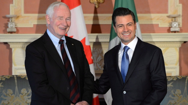 Governor General David Johnston foreign policy
