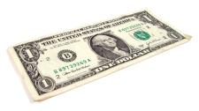 American one dollar bill U.S.
