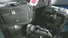 luggage; suitcase
