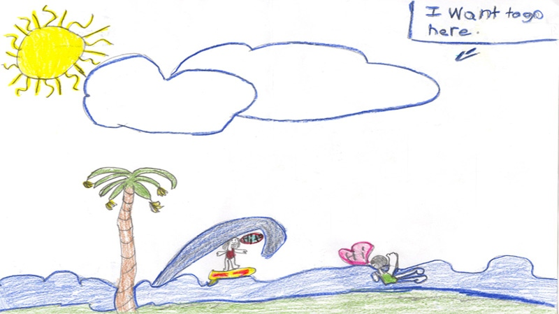 Aleisha Marshall, 10 years old, Grade 4, Dr. S.E. McDowell School in Shawville