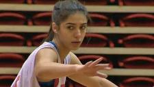 Sara Astorga, Athlete of the Week, SAIT Trojans wo