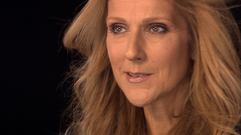 Celine Dion is shown in an undated photo from video.