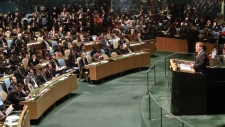John Baird addresses UN
