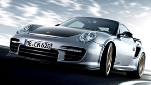 Porsche's 911 GT2 RS is seen in this image courtesy of Porsche Canada.