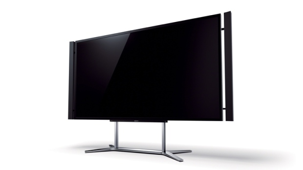 Sony ultra-HD 4K TV set.
