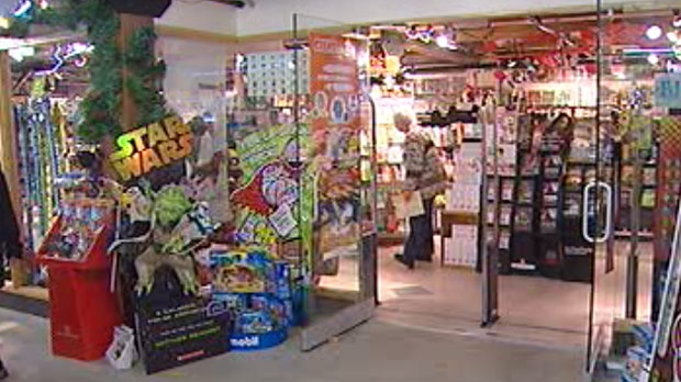 Twelve toy stores across Winnipeg were reviewed for their displays and products by a volunteer group Saturday.