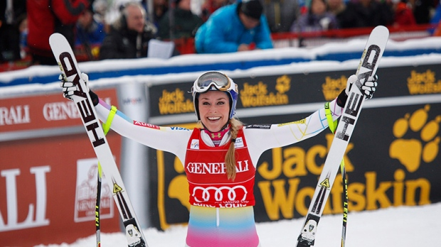 Lindsey Vonn wins second ract at World Cup