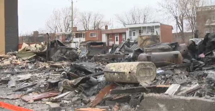 The Bossuet St. fire  demolished Sylvain Vaillancourt's oil-delivery business.