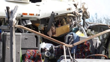 Bus crash at Miami Int'l Airport, Dec. 1, 2012