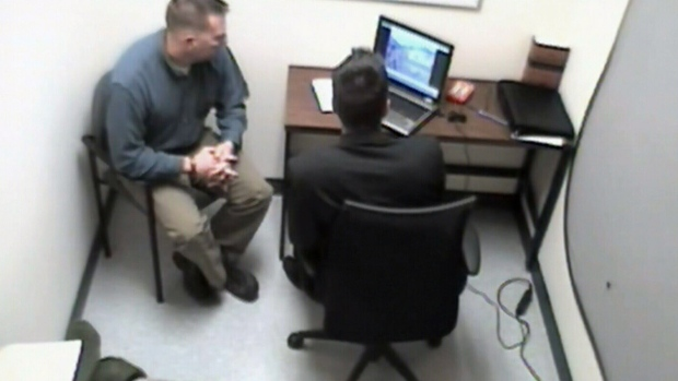 Maj. Darryl Watts is seen in an interview, which took place nine months after the incident that killed Cpl. Josh Baker and injured four others.