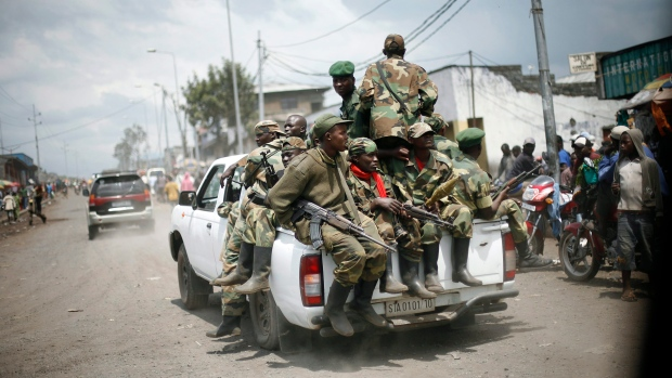 Congo rebels retreat from Goma