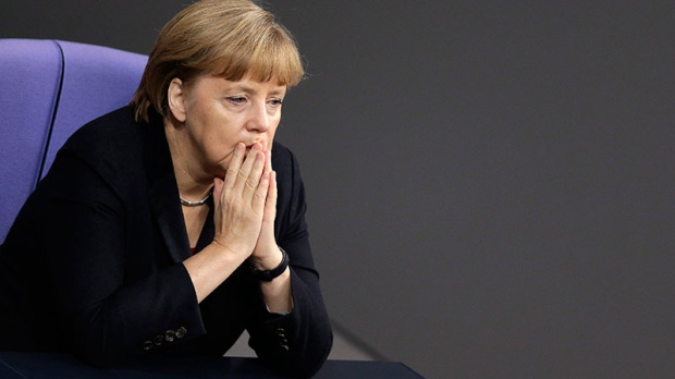 Merkel hasn't ruled out Greece bailout