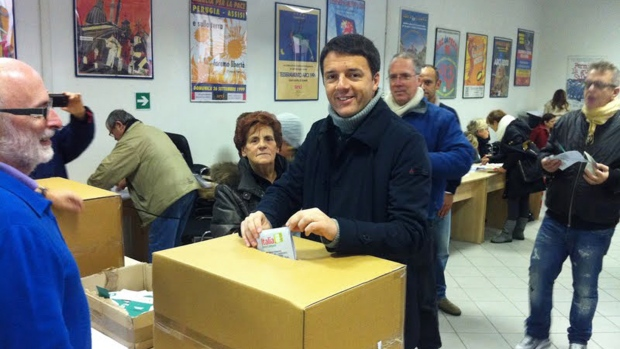 Italy votes for centre-left premier candidate