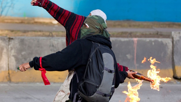 Violent protests in Mexico over Neito