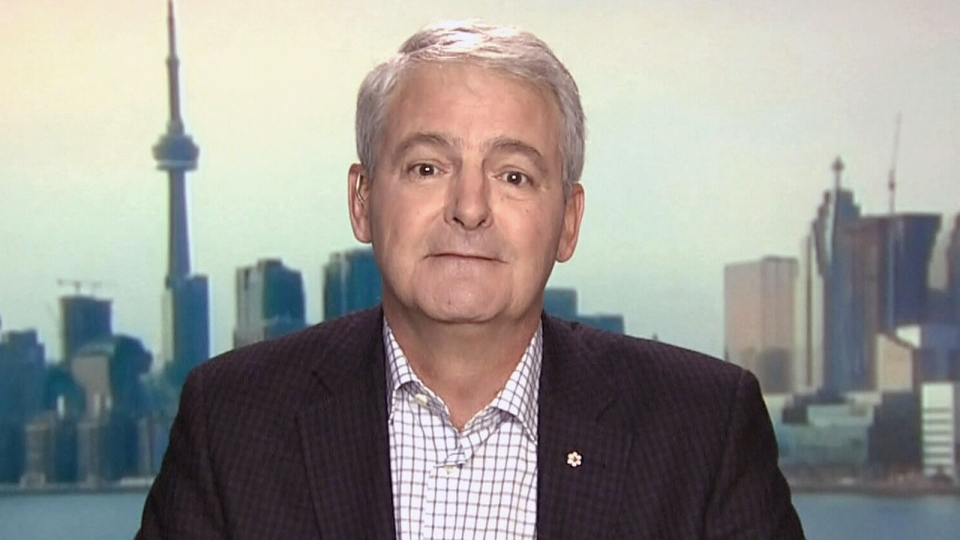 Appearing on CTV's Question Period, Liberal leadership hopeful Marc Garneau says generational change is a 'sham issue,' on Sunday, Dec. 2, 2012.