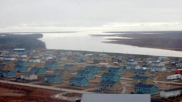 Kaschechewan First Nation in an undated photo