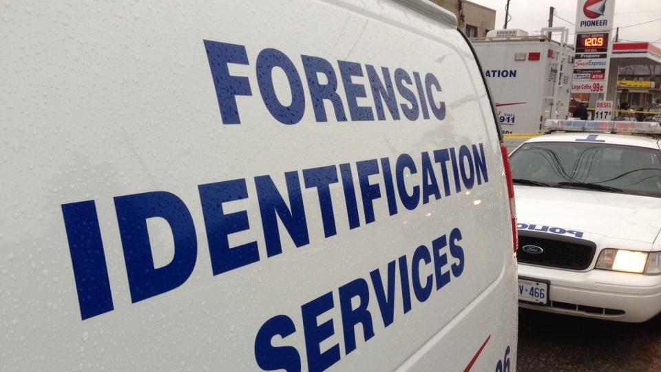 Toronto Police at the scene of a suspicious death on Dec. 2, 2012.