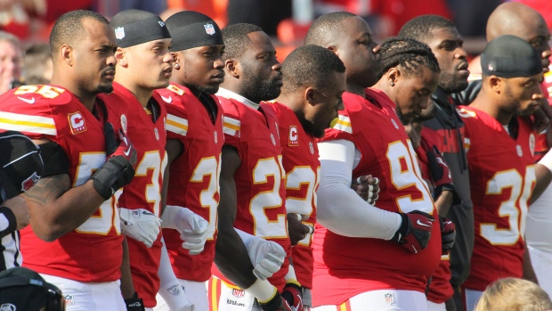 Kansas City Chiefs have moment of silence at game