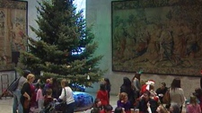 Winnipeg Art Gallery holiday tree