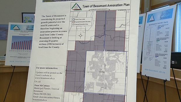 Town of Beaumont Annexation