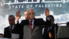 Palestinian President Mahmoud Abbas Dec. 2, 2012